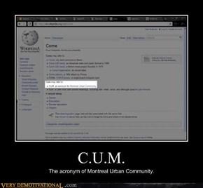 C.U.M.