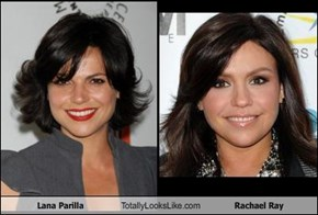 Lana Parilla Totally Looks Like Rachael Ray