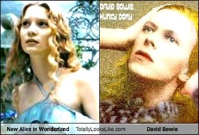 New Alice in Wonderland Totally Looks Like David Bowie