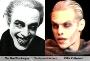 The Man Who Laughs Totally Looks Like AVPM Voldemort