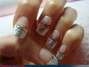 Bridal Corset Manicure