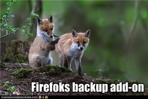 Firefoks backup add-on