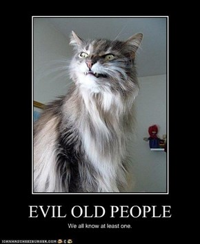 EVIL OLD PEOPLE
