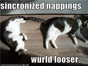 sincronized nappings  wurld looser...