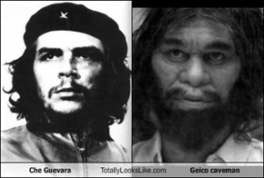 Che Guevara Totally Looks Like Geico caveman