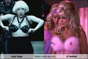 Lady Gaga Totally Looks Like A Fembot