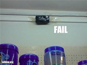 Security Camera Fail