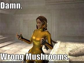 Damn.  Wrong Mushrooms.