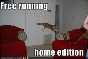 Free running  home edition