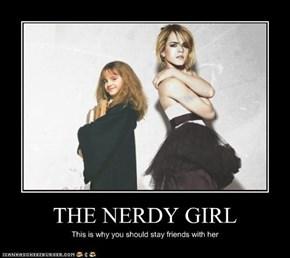 THE NERDY GIRL