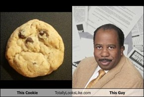 This Cookie Totally Looks Like This Guy