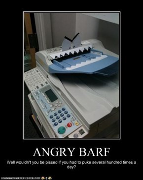 ANGRY BARF