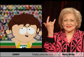 JIMMY Totally Looks Like Betty White