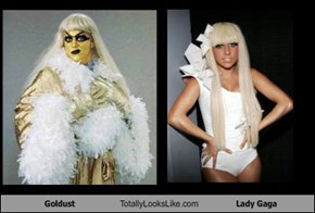 Goldust Totally Looks Like Lady Gaga