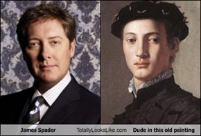 James Spader Totally Looks Like Dude in this old painting