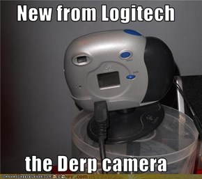 New from Logitech  the Derp camera