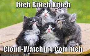 Itteh Bitteh Kitteh  Cloud-Watching Comitteh