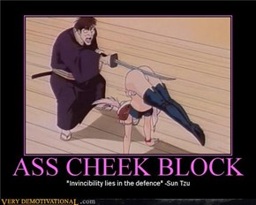 Ass Cheek Block