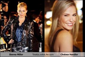 Sienna Miller Totally Looks Like Chelsea Handler
