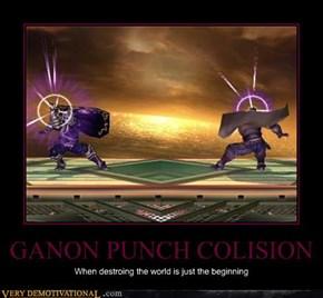 GANON PUNCH COLISION