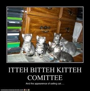 ITTEH BITTEH KITTEH COMITTEE