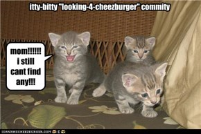 "itty-bitty ""looking-4-cheezburger"" commity"
