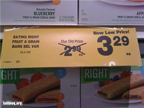 Grocery Store Signage FAIL