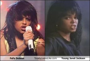 FeFe Dobson Totally Looks Like Young Janet Jackson