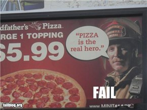 Pizza Sign Fail
