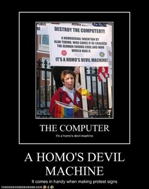 A HOMO'S DEVIL MACHINE