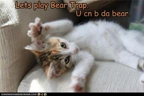U cn b da bear.