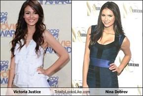 Victoria Justice Totally Looks Like Nina Dobrev