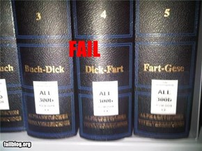 Dictionary Fail