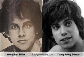Young Ben Stiller Totally Looks Like Young Robby Benson