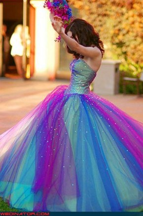 Lisa Frank Designs Wedding Dresses Now?
