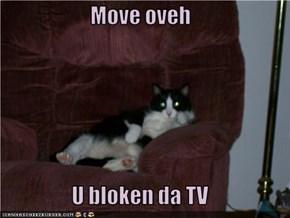 Move oveh  U bloken da TV