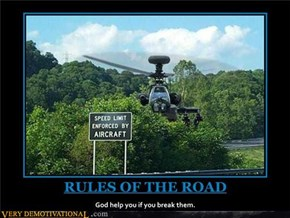Rules of the road.