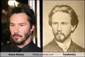 Keanu Reeves Totally Looks Like Tchaikovsky