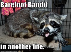 Barefoot Bandit  in another life.