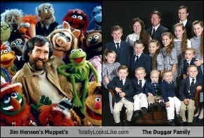 Jim Henson's Muppet's Totally Looks Like The Duggar Family