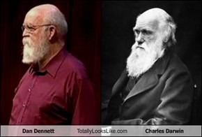 Dan Dennett Totally Looks Like Charles Darwin