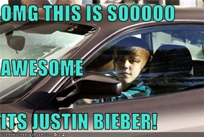 OMG THIS IS SOOOOO  AWESOME ITS JUSTIN BIEBER!