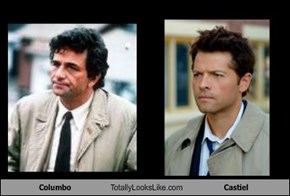 Columbo Totally Looks Like Castiel