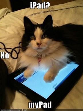 iPad? No myPad