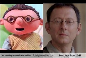 Mr. Beasley from Bob The Builder Totally Looks Like Ben Linus from LOST