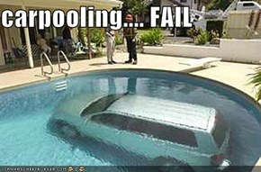 carpooling.... FAIL