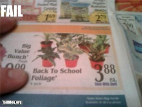 Back to school FAIL