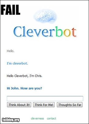 Cleverbot Fail