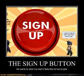 THE SIGN UP BUTTON