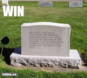Headstone WIN